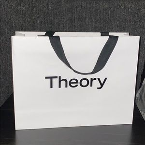Theory collectible shopping bag